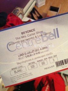 Queen B ticket